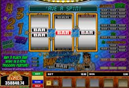 The You Lucky Barstard bonus game consists of a ladder made up of seven levels. Each level is labeled with a multiplier value. You can win up to x250 your bet amount.